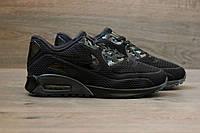 Мужские кроссовки Nike Air Max 90 Ultra Breathe Triple Black