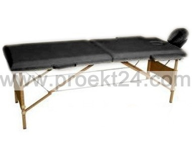 Массажный стол 2-х секционный бежевый