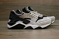 Мужские кроссовки Nike Air Huarache Gray/Black