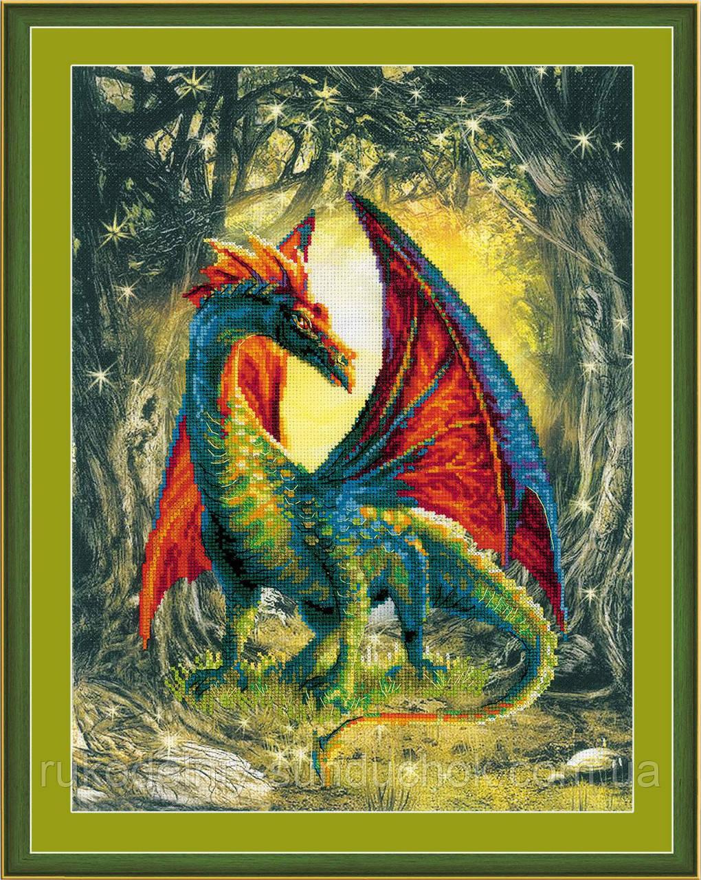 Набор для вышивания крестом Риолис Лесной дракон РТ-0057