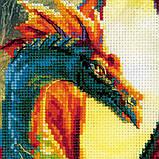 Набор для вышивания крестом Риолис Лесной дракон РТ-0057, фото 2