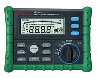 MS5205 Mastech Мегаомметр (тестер напряжения до 2500В)4 тестовых напряжения: 250V, 500V, 1000V, 2500V