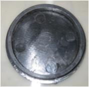 Заглушка тарелочки нижней для роторной косилки Wirax