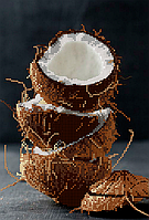 Схема для вышивки бисером Кокосовое наслаждение, размер 19х28 см