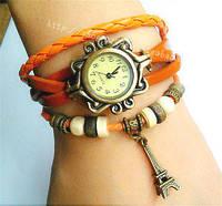 Женские Часы винтажные Башня с длинным ремешком