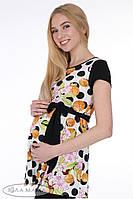 Туника для беременных Sesily top принт монеты