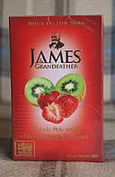 """Чай James & Grandfather """"Strawberry and Kiwi"""" черный с клубникой и киви 100 г"""
