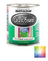 Краска для  школьной доски прозрачная под колеровку, банка RUST-OLEUM (США) 0,946 л