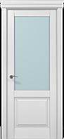 """Двери межкомнатные Папа Карло """"Milenium ML-11 сатин"""" беылй матовый"""