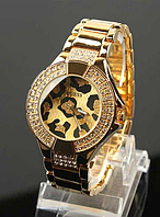 Женские Часы Guess  леопард