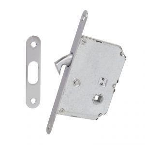 Механизм с ответной планкой для раздвижных дверей 4120 SC мат хром