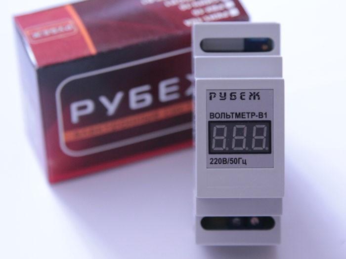 Вольтметр переменного тока однофазный цифровой РУБЕЖ В1
