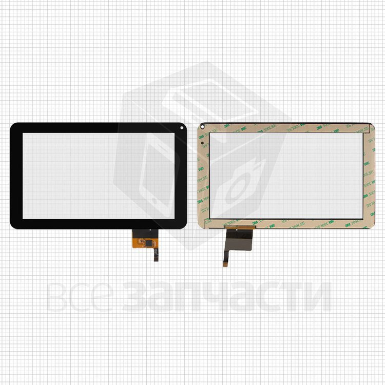 "Сенсорный экран для планшетов China-Tablet PC 9""; Woxter 90BL , черный, емкостный, 12 pin"
