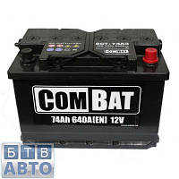 Аккумулятор 74Аh 640A SADA Combat