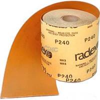 Абразивная бумага Radex Gold в рулоне(Рулон для шлифования «по-сухому») 115ммx50м P60-600 552500
