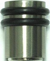 Стопор дверной d29xh40 CP полированный хром Elephant