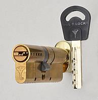 Цилиндр Mul-t-lock Classic 110мм (50х60T) ключ-тумблер латунь