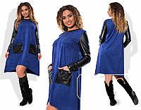 Платье трикотажное в расцветках 14416