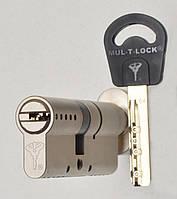 Цилиндр Mul-t-lock Classic 110мм (40х70T) ключ-тумблер никель-сатин