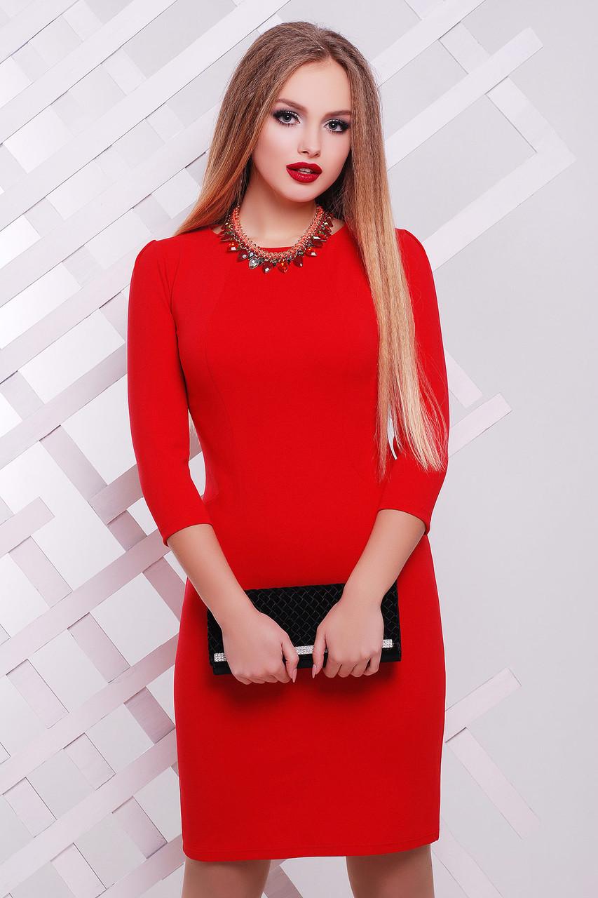ce76133b105 Женское облегающее платье красного цвета купить в Запоріжжи ...