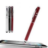 Ручка со стилусом для смартфона 4 в 1