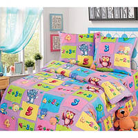 Ткань для детского постельного белья, бязь Забавный счет