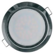 Светильник встраиваемый  Navigator 71281 NGX-R1-005-GX53             (Черный хром)