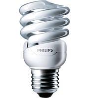 Компактная люминесцентная лампа PHILIPS Tornado T2 8y 12W/827 E27 WW