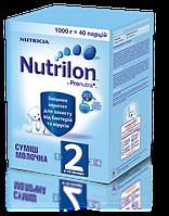 """Детское питание """"Смесь молочная сухая Nutrilon 2"""" для питания детей от 6 до 12 месяцев (1000 грам)"""