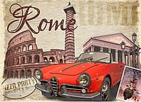 """Схема для вышивки бисером """"Рим"""", А3"""