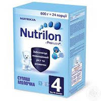 """Детское питание смесь молочная сухая """"Детское молочко Nutrilon 4"""" для питания детей от 18 месяцев (600 грам)"""