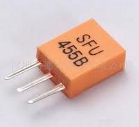 Кварцевый фильтр   455кГц sfu455b