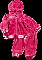 Велюровый костюмчик для девочек