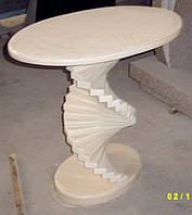 Столик с фигурной ножкой СЛЛМ - 29