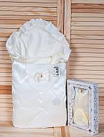 """Набір """"Джентельмен"""" кремовий, велюр + полікотон, зима, фото 1"""