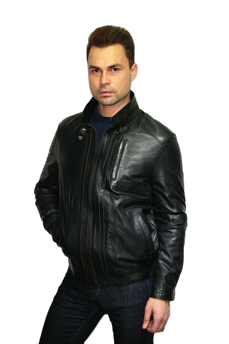 Куртка кожаная Oscar Fur 316 Черный