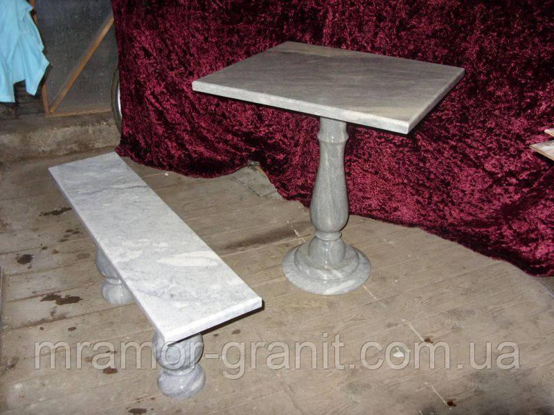 Столик и лавка СЛЛМ - 32