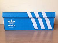 Коробки для обуви Adidas синего цвета