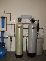 Очистка воды для коттеджа комплексная система очистки воды  «ECOstandart» до 2,5 м3/час.