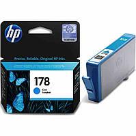 HP 178 Картридж Cyan (Синий) (CB318HE)
