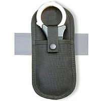 Текстильный чехол (подсумок) для шарнирных наручников. Полиция Великобритании, оригинал.