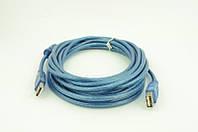 Кабель AM-AF 1,5 метра (пакет), удлинительный кабель usb am af