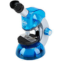 Microscope Blue Toy Game Kids Play Educational Learning Fun Микроскоп