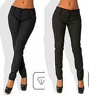 Модные женские брюки с узором / Украина / стрейч-шерсть