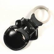 Кожаный чехол (подсумок) для шарнирных наручников. Полиция Великобритании, оригинал.