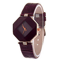 [ Часы женские Jewel gem cut ] Часы-украшение с геометрическим циферблатом