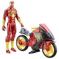 """Набор Человек Паук на мотоцикле, серия """"Iron Spyder"""", фото 1"""