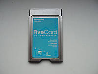 CARRY Multi Card 5in1 картридер PCMCIA Memory Stick, Memory Stick Duo, SD Card SDHC адаптер