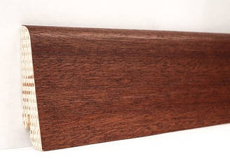 Плинтус деревянный шпонированный Сапель