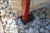 HL600 Уличный трап для приема воды из наружных ливнестоков DN110 с поворотным шарнирным сое, Австрия